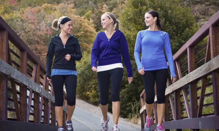 Wandelen als work-out?