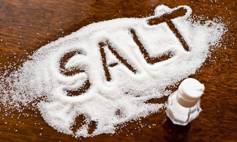 Opzouten met dat zout!
