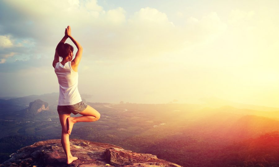 Onthaasten met Power-Yoga