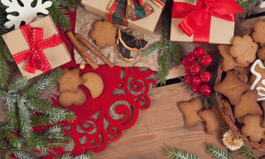 Zonder stress en gewichtstoename de decembermaand door?