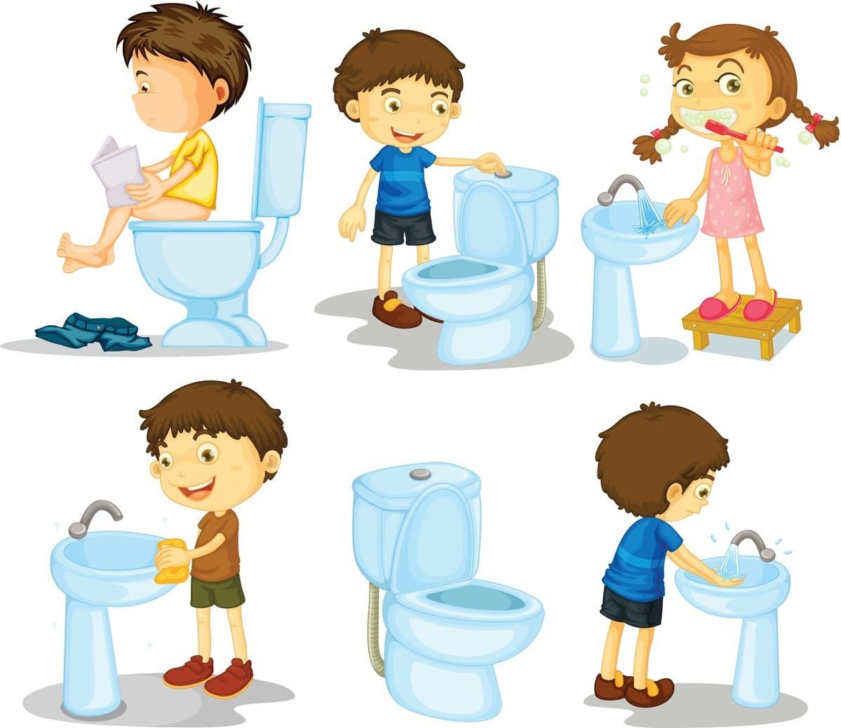 Kinderen niet opruiment